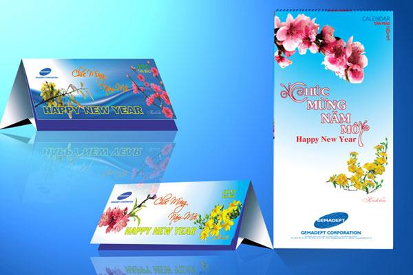 In Lịch Tết làm quà tặng và giá trị marketing của nó
