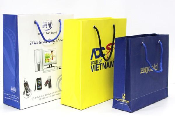 Lựa chọn và in túi giấy sử dụng cho doanh nghiệp bạn