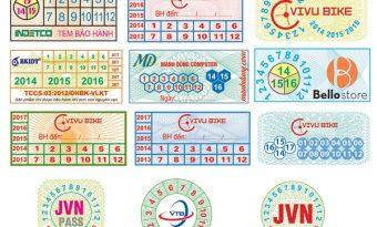 Công ty in tem vỡ bảo hành lấy ngay chất lượng tại Hà Nội